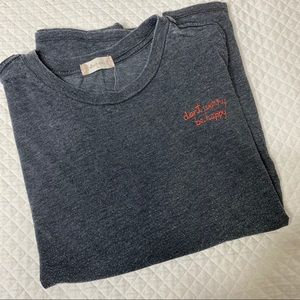 Altard State: Don't Worry Be Happy Stitched Tee